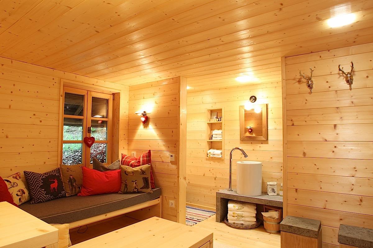 Sauna in der Natur