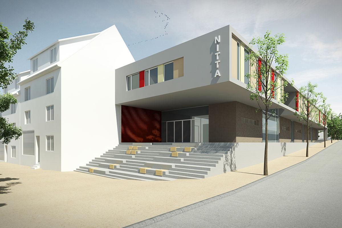 Architektenwettbewerb NITTA Albstadt