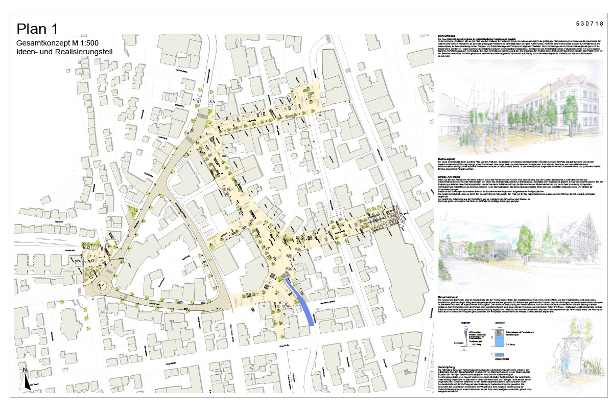 Architektenwettbewerb Neue Mitte Tailfingen
